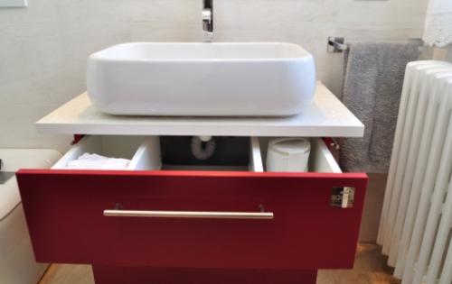 Arredo bagno - Mobile bagno doppio lavello ...
