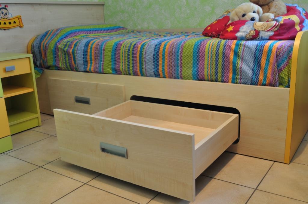 Agor allestimenti ambienti cucina - Testata letto colorata ...