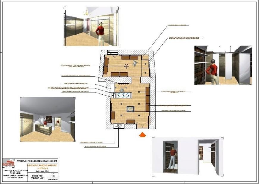 studio planimetrie agor allestimenti arredamento negozi