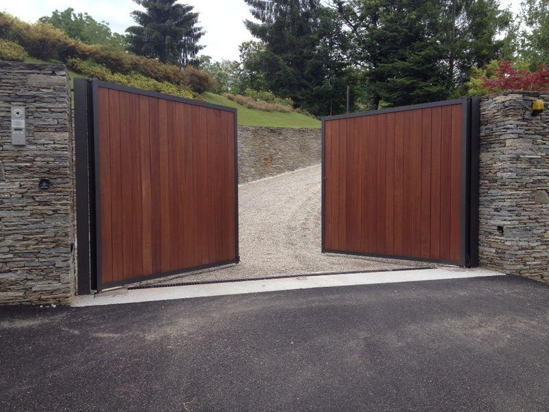 Doghe In Legno Per Cancelli : Cancelli in ferro e legno moderni cancello ferro e legno amazing